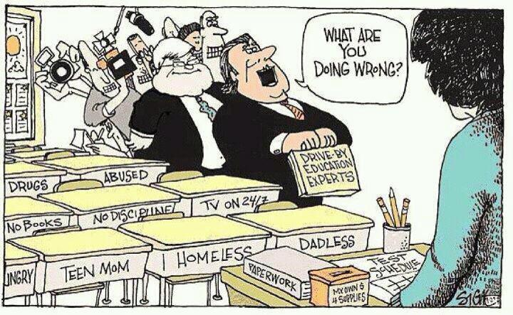 New Study Lack of Education Experts in Media