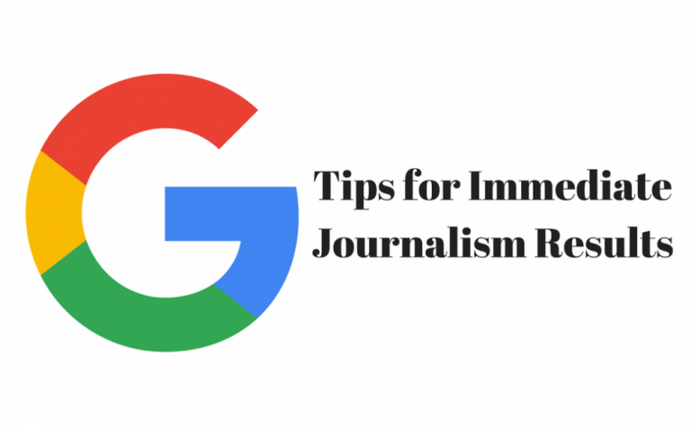 Top 6 Google Search Tips For Journalists